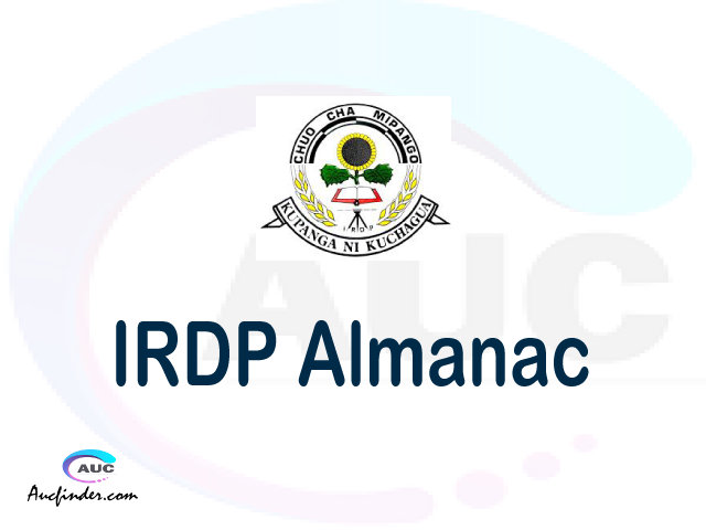 IRDP almanac Institute of Rural Development Planning almanac Institute of Rural Development Planning (IRDP) almanac Institute of Rural Development Planning IRDP almanac Download Institute of Rural Development Planning almanac