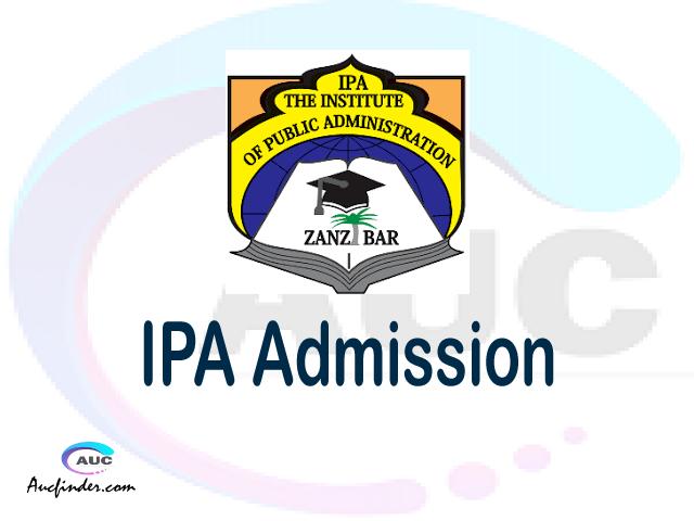 Institute of Public Administration Admission Institute of Public Administration IPA Admission