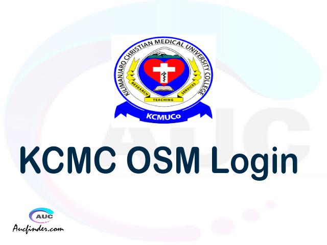 KCMC OSIM, Kilimanjaro Christian Medical College Student Information Management System, KCMC login account My account, KCMC login account, KCMC login, KCMC OSIM KCMC login, KCMC login to My account Login