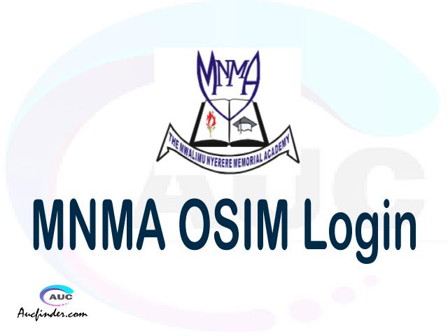 MNMA OSIM, Mwalimu Nyerere Memorial Academy Student Information Management System, MNMA login account My account, MNMA login account, MNMA login, MNMA OSIM MNMA login, MNMA login to My account Login