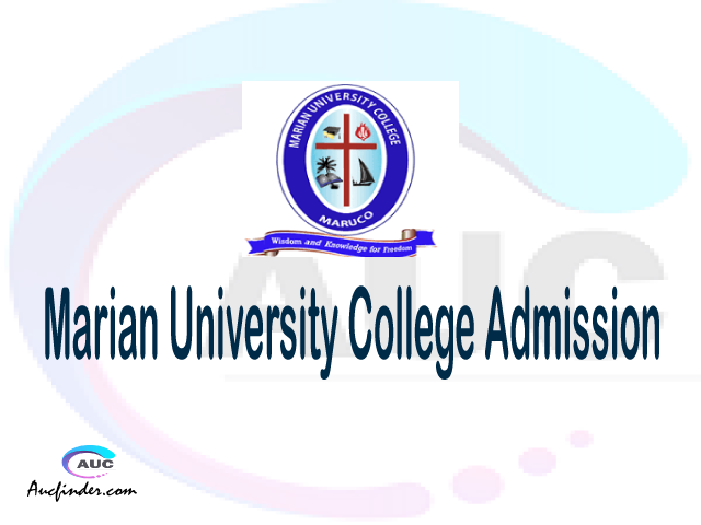 Marian University College Admission Marian University College MARUCO Admission