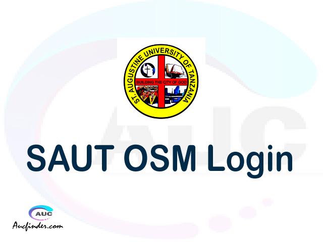SAUT OSIM, St. Augustine University of Tanzania Student Information Management System, SAUT login account My account, SAUT login account, SAUT login, SAUT OSIM SAUT login, SAUT login to My account Login