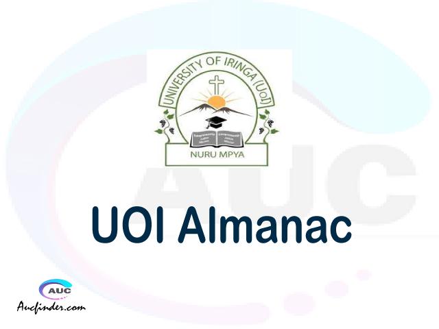 UOI almanac University of Iringa almanac University of Iringa (UOI) almanac University of Iringa UOI almanac Download University of Iringa almanac