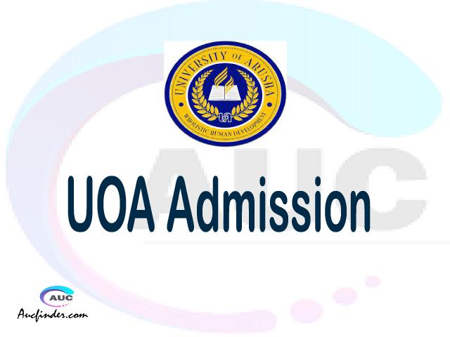 University of Arusha Admission University of Arusha UOA Admission