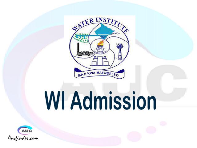 Water Institute Admission Water Institute WI Admission