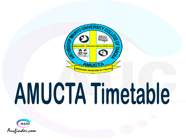 AMUCTA timetable, AMUCTA timetable second semester, STAIS AMUCTA timetable semester 2, Second Semester time table, second semester time table,