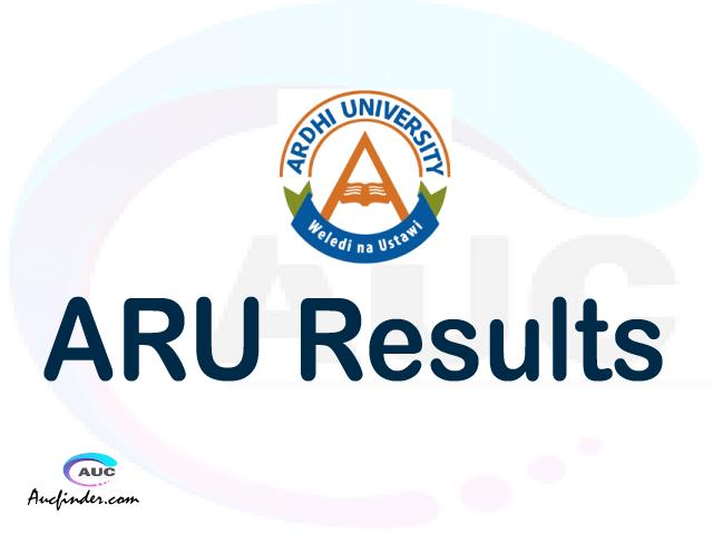 ARIS ARU results, ARU ARIS Results today, ARU Semester Results, ARU results, ARU results today