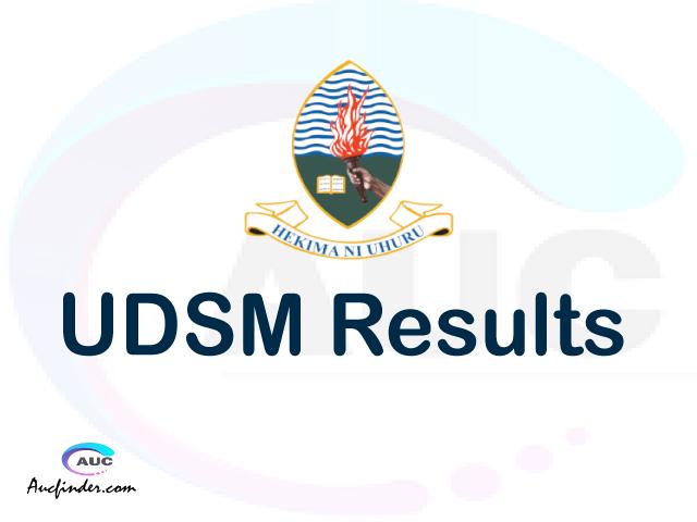 ARIS UDSM results, UDSM ARIS Results today, UDSM Semester Results, UDSM results, UDSM results today