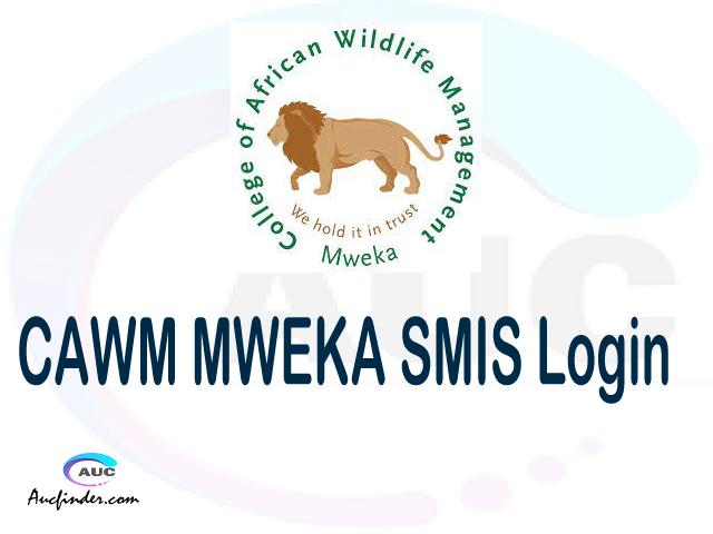 CAWM MWEKA SMIS, College of African Wildlife Management Student Management System, CAWM MWEKA login account My account, CAWM MWEKA login account, CAWM MWEKA login, CAWM MWEKA SMIS CAWM MWEKA login, CAWM MWEKA login to My account Login