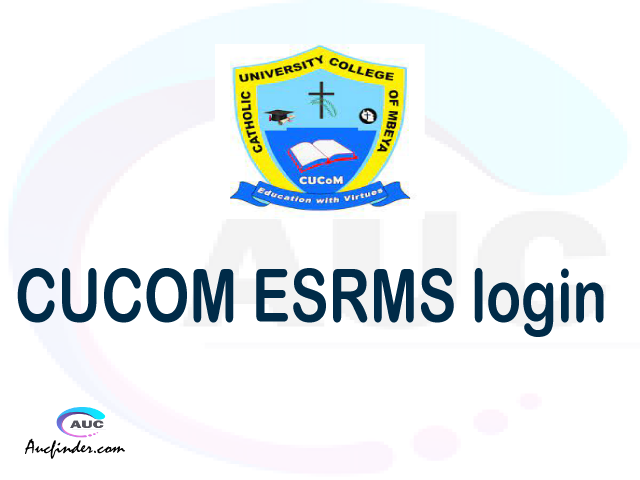 CUCOM ESRMS, Catholic University College of Mbeya Electronic Student Record Management System, CUCOM login account My account, CUCOM login account, CUCOM login, CUCOM ESRMS CUCOM login, CUCOM login to My account Login