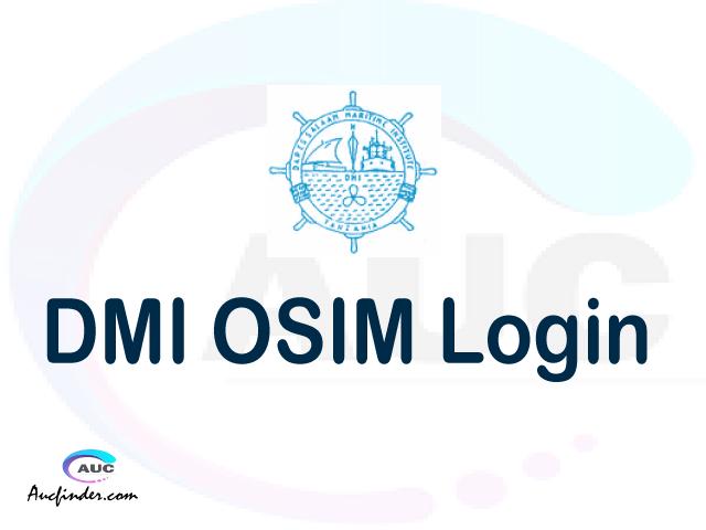 DMI OSIM, Dar Es Salaam Maritime Institute Student Information Management System, DMI login account My account, DMI login account, DMI login, DMI OSIM DMI login, DMI login to My account Login