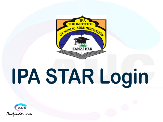 IPA STAR, Institute of Public Administration Student Records Management System, IPA login account My account, IPA login account, IPA login, IPA STAR IPA login, IPA login to My account Login