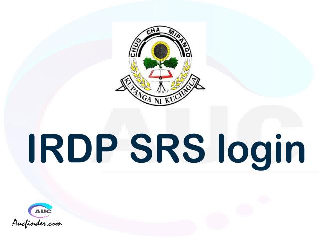 IRDP SRS, Institute of Rural Development Planning Student Records Management System, IRDP login account My account, IRDP login account, IRDP login, IRDP SRS IRDP login, IRDP login to My account Login