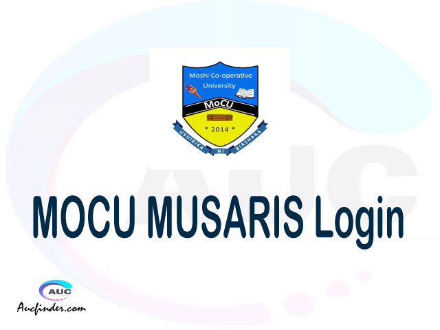 MOCU MUSARIS, Moshi Cooperative University Student Academic and Registration Information System, MOCU login account My account, MOCU login account, MOCU login, MOCU MUSARIS MOCU login, MOCU login to My account Login