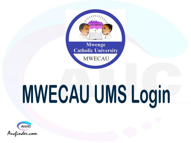MWECAU UMS, Mwenge Catholic University University Management System, MWECAU login account My account, MWECAU login account, MWECAU login, MWECAU UMS MWECAU login, MWECAU login to My account Login