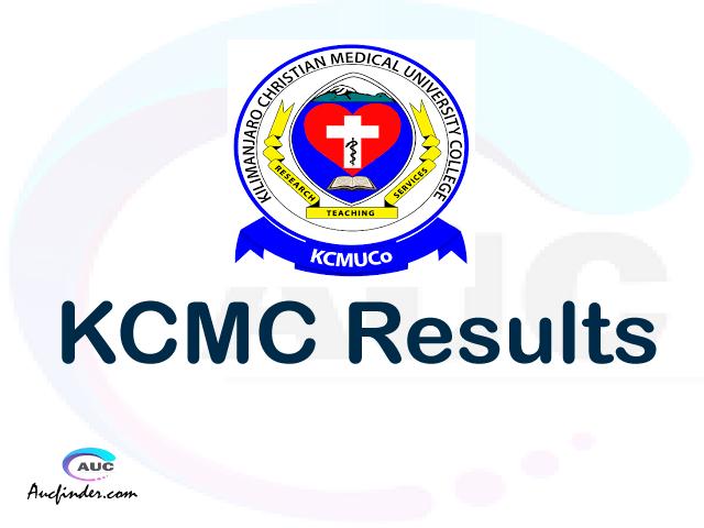 OSIM KCMC results, KCMC OSIM Results today, KCMC Semester Results, KCMC results, KCMC results today