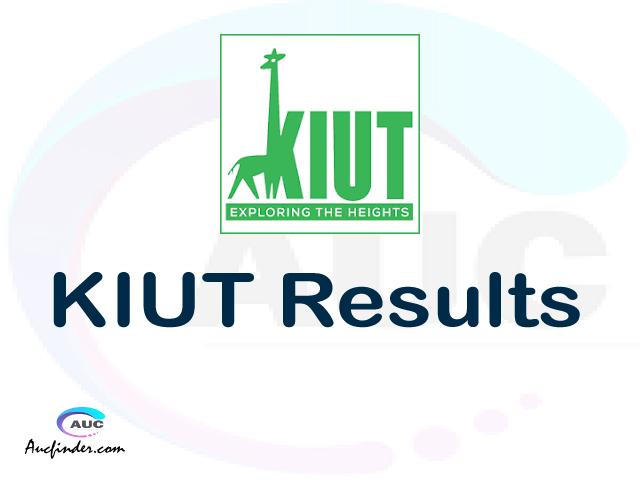 OSIM KIUT results, KIUT OSIM Results today, KIUT Semester Results, KIUT results, KIUT results today