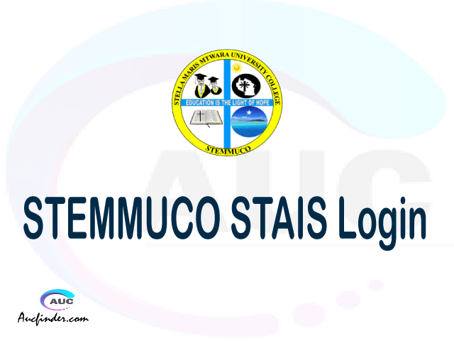 STAIS, Stella Maris Mtwara University College Academic Information System, STEMMUCO login account My account, STEMMUCO login account, STEMMUCO login, STAIS STEMMUCO login, STEMMUCO login to My account Login
