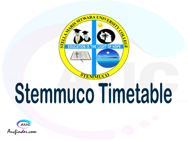 STEMMUCO timetable, STEMMUCO timetable second semester, STAIS STEMMUCO timetable semester 2, Second Semester time table, second semester time table,