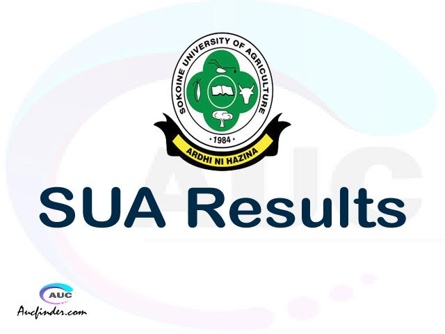 SUASIS SUA results, SUA SUASIS Results today, SUA Semester Results, SUA results, SUA results today
