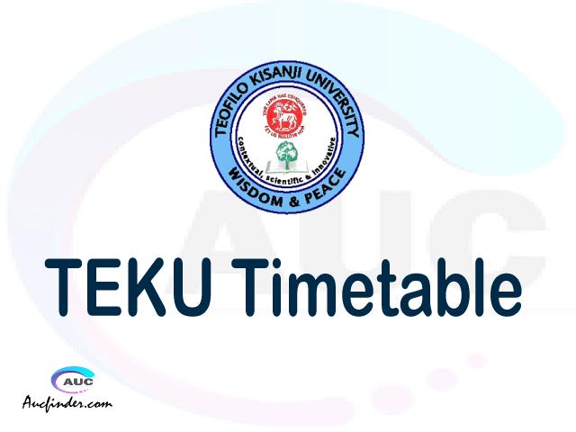 TEKU timetable, TEKU timetable second semester, TAIS TEKU timetable semester 2, Second Semester time table, second semester time table,