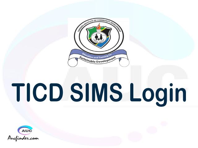 TICD SIMS, Tengeru Institute of Community Development Student Information Management System, TICD login account My account, TICD login account, TICD login, TICD SIMS TICD login, TICD login to My account Login