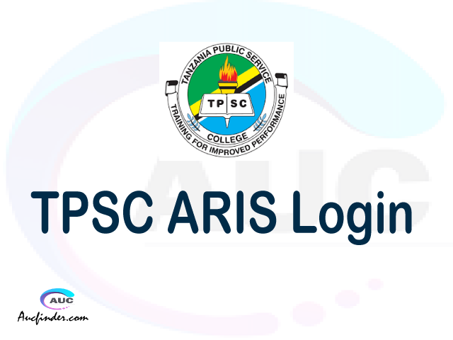 TPSC ARIS, Tanzania Public Service College Dar es salaam Campus Academic Registration Information System, TPSC login account My account, TPSC login account, TPSC login, TPSC ARIS TPSC login, TPSC login to My account Login