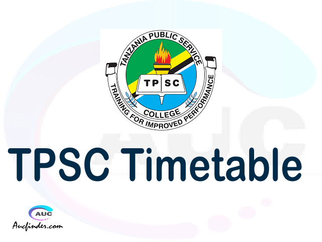 TPSC timetable, TPSC timetable second semester, ARIS TPSC timetable semester 2, Second Semester time table, second semester time table,