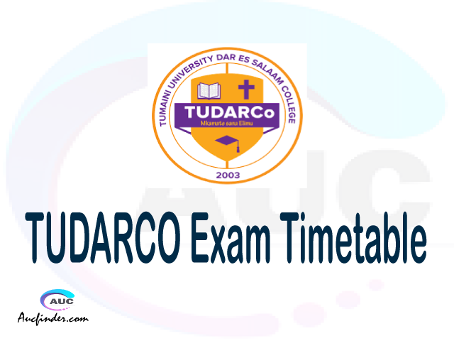 TUDARCO Examination Time Table-, TUDARCO UE timetable, UE timetable TUDARCO, TUDARCO supplementary timetable, TUDARCO UE timetable second semester, TUDARCO supplementary timetable
