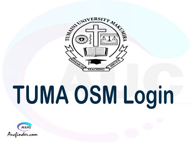 TUMA OSM, Tumaini University Makumira Student Information Management System, TUMA login account My account, TUMA login account, TUMA login, TUMA OSM TUMA login, TUMA login to My account Login
