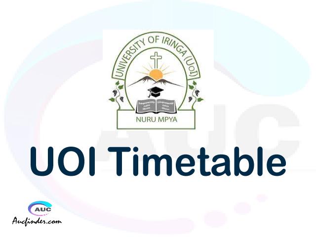 UOI timetable, UOI timetable second semester, SAMIS UOI timetable semester 2, Second Semester time table, second semester time table,