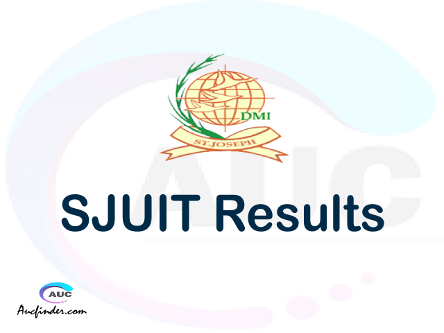 VCAMPUS SJUIT results, SJUIT VCAMPUS Results today, SJUIT Semester Results, SJUIT results, SJUIT results today
