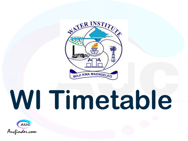 WI timetable, WI timetable second semester, SIMS WI timetable semester 2, Second Semester time table, second semester time table,
