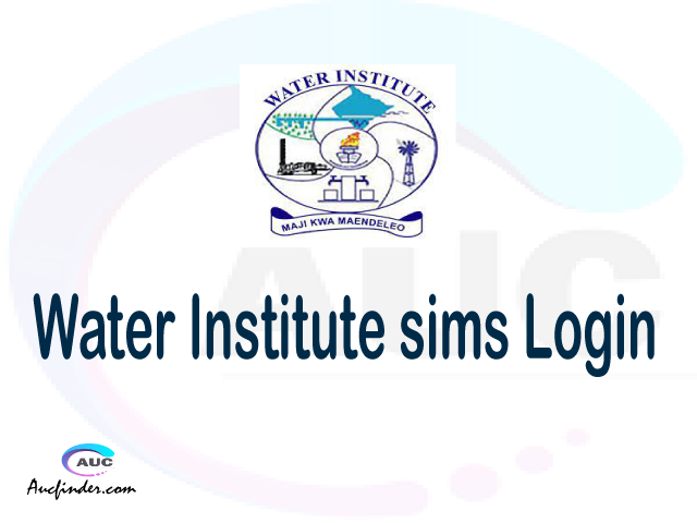 WI SIMS, Water Institute Student Information Management System, WI login account My account, WI login account, WI login, WI SIMS WI login, WI login to My account Login