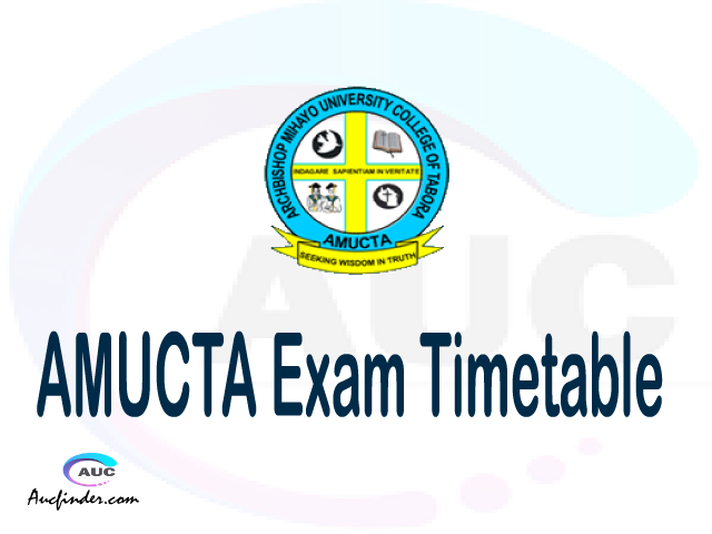 AMUCTA Examination Time Table-, AMUCTA UE timetable, UE timetable AMUCTA, AMUCTA supplementary timetable, AMUCTA UE timetable second semester, AMUCTA supplementary timetable