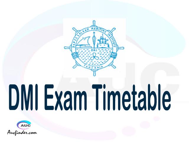 DMI Examination Time Table-, DMI UE timetable, UE timetable DMI, DMI supplementary timetable, DMI UE timetable second semester, DMI supplementary timetable