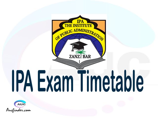 IPA Examination Time Table-, IPA UE timetable, UE timetable IPA, IPA supplementary timetable, IPA UE timetable second semester, IPA supplementary timetable